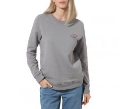 Vans Womens Attendance Crew Sweater Grey Heather