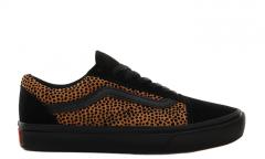 Vans Comfycush Old Skool Tiny Cheetah Black