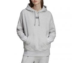 Adidas Originals Womens Vocal Hoodie Light Grey Heather