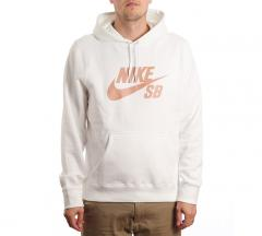 Nike SB Icon Hoodie Summit White / Rose Gold