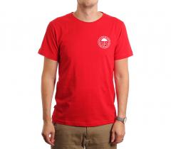 Makia Umbrella Tee Red