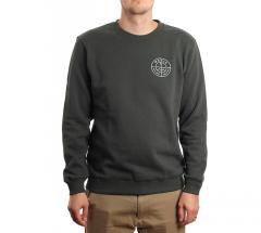 Makia Range Sweatshirt Dark Green