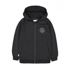 Makia Kids Range Hooded Sweatshirt Black