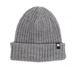 DC Fish N Destroy Cuff Beanie Grey Heather