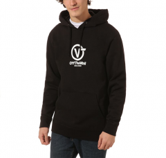 Vans Distorted Performance Hoodie Black
