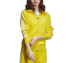 Adidas Womens Firebird Track Jacket Yellow