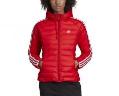Adidas Womens Slim Jacket Scarlet