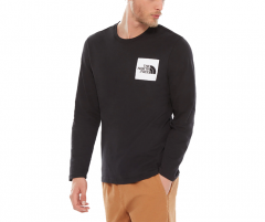 The North Face Longsleeve Fine Tee TNF Black / TNF White