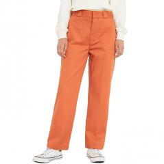 Dickies Womens Elizaville Work Pants Rust