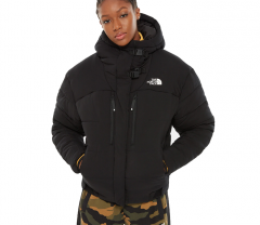 The North Face Womens Himalayan Puffer Jacket TNF Black