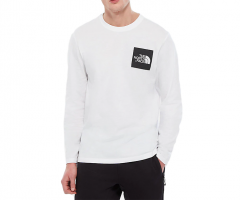 The North Face Longsleeve Fine Tee TNF White