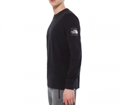 The North Face Fine 2 L/S Tee TNF Black