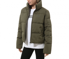 Vans Womens Foundry Puffer Jacket Grape Leaf