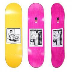 Polar Skate Co. AARON HERRINGTON - Spilled Milk Yellow 7.875