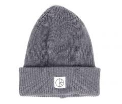 Polar Skate Co. Double Fold Merino Beanie Heather Grey