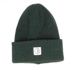Polar Skate Co. Double Fold Merino Beanie Dark Green