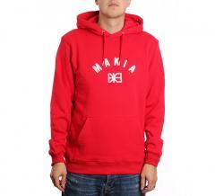 Makia Brand Hooded Sweatshirt Red