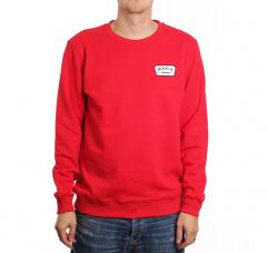 Makia Emblem Sweatshirt Red