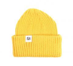 ISLA Skye Kids Merino Beanie Yellow