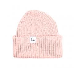 ISLA Skye Kids Merino Beanie Blush Pink
