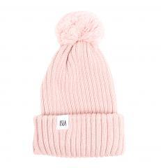 ISLA Iona Kids Merino Beanie Blush Pink