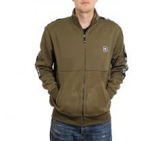 DC Pelton Mock Fleece Jacket Fatigue Green