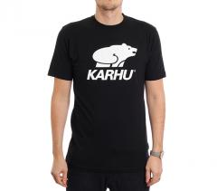 Karhu Basic Logo Tee Black / White