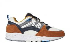 "Karhu Fusion 2.0 ""CROSS-COUNTRY SKI"" Leather Brown / Night Sky"