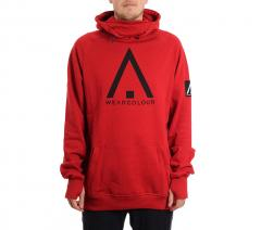Wear Colour Bowl Hood Falu Red