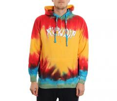 RIPNDIP Nerm In Wonderland Hoodie Sunburst Spiral Dye