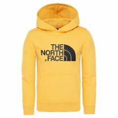 The North Face Youth Drew Peak Hoodie TNF Yellow