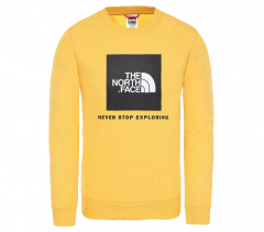 The North Face Youth Box Crew TNF Yellow