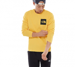 The North Face Fine Longsleeve Tee TNF Yellow