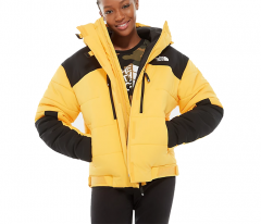 The North Face Womens Himalayan Puffer Jacket TNF Yellow / TNF Black