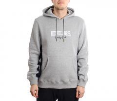 Mitchell & Ness Paneled Hoodie Grey