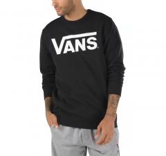 Vans Classic Crew Sweatshirt II Black / White