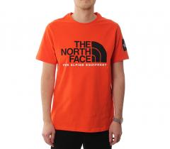 The North Face Fine Alpine Tee 2 Tangerin Tango