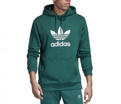 Adidas Originals Trefoil Hoodie Noble Green / White
