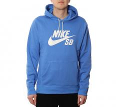 Nike SB Icon Hoodie Pacific Blue / Sail
