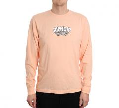 RIPNDIP Mind Blown L/S Peach