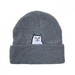RIPNDIP Lord Nermal Rib Beanie Heather Multi