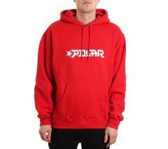 Polar Skate Co. Star Hoodie Red