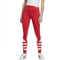 Adidas Originals Womens Large Logo Tights Lush Red / White