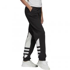 Adidas Originals Womens Large Logo Sweat Pants Black / White