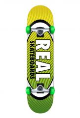 Real Team Oval Heatwave Complete Green / Yellow 7.5
