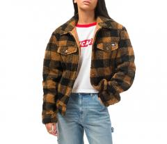 Dickies Womens Cawood Jacket Brown Duck