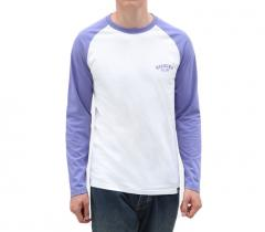 Dickies Baseball LS Tee Dusted Lilac
