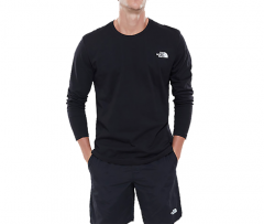The North Face Easy Longsleeve Tee TNF Black