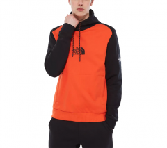 The North Face Fine Alpine Hoodie Tangerine Tango