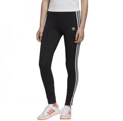 Adidas Originals Womens 3 Stripes Tights Black / White